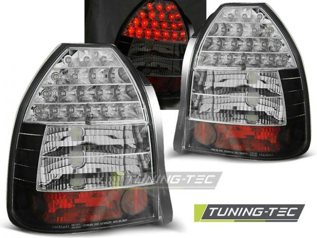Honda Civic lampy tył LED ciemne 96 01 wz.2 TTe sklep