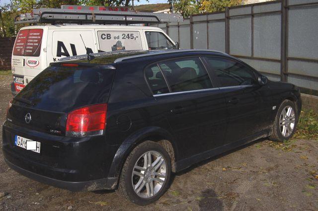 Opel Signum Przyciemnienie Szyb Markową Folią Produsa